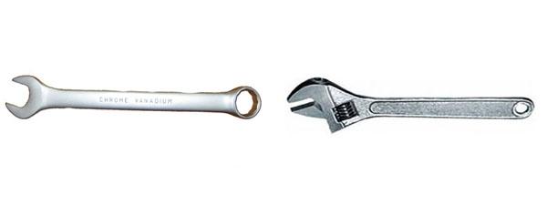 гаечный ключ 27 мм разводной ключ 30 мм