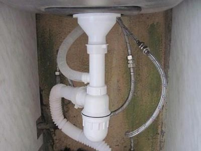диаметр канализационный трубы для раковины
