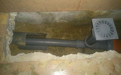 система трубопровода под полом