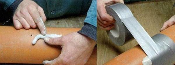 накладка резиновой прокладки