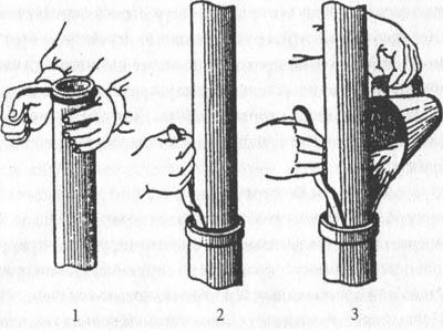 заделка соединений цементным раствором