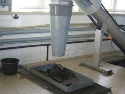 механическая обработка канализационных вод