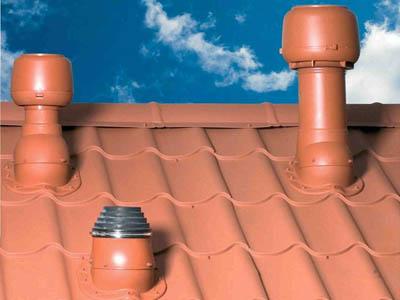 трубу стояка выводят на крышу