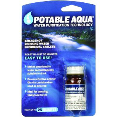 таблетки Potable Aqua Treatment