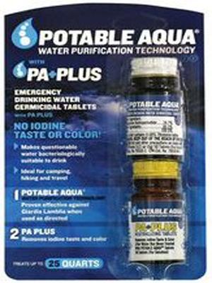 таблетки Potable Aqua