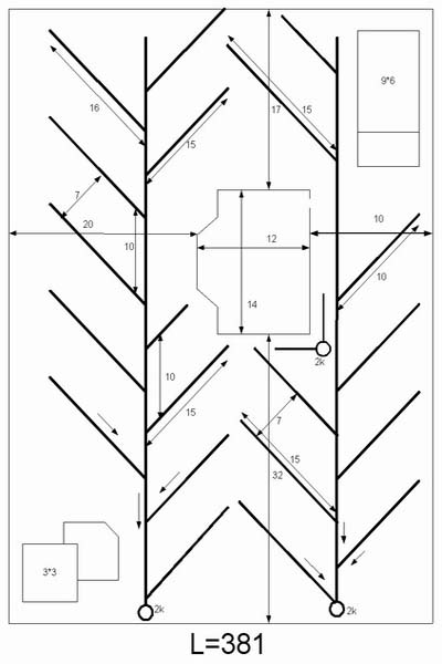 схема сложного дренажа в огороде